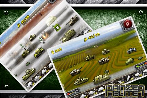 Panzer War- screenshot