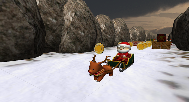 Santa - The Christmas Runner 2 - screenshot
