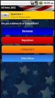 Screenshot of US Votes 2012