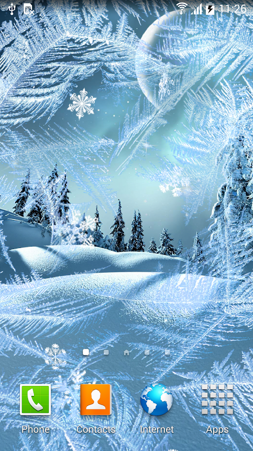 winter night wallpaper android apps on google play