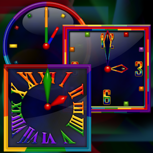 Rainbow Alarm Clock Widget apk