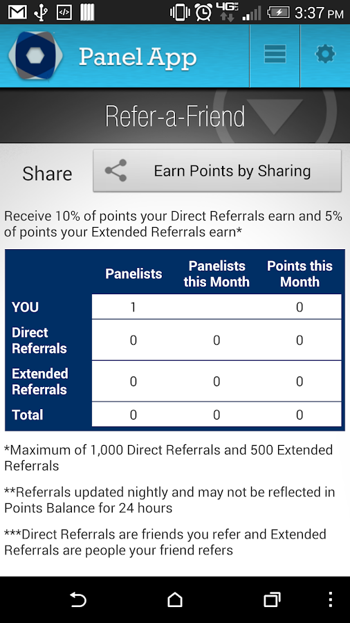 Panel App - Prizes & Rewards- screenshot