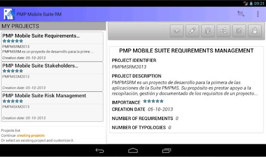 PMP Mobile Suite RM- screenshot thumbnail