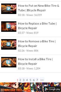 Bicycle Repair Maintenance