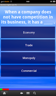 Business English Quiz Pro- screenshot thumbnail