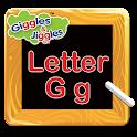 Letter G for LKG Kids Practice