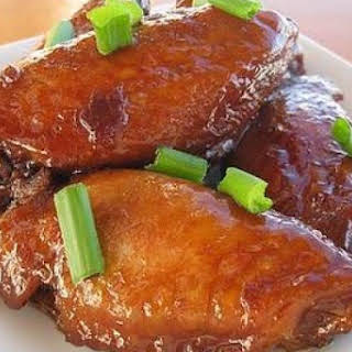 Dad's Chinese Chicken Wings.