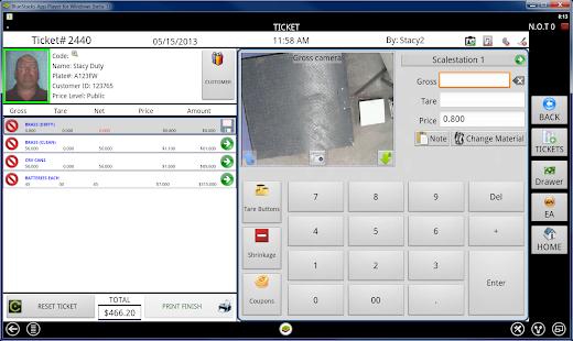Weigh & Pay Recycling Software- screenshot thumbnail