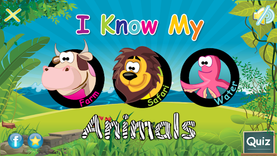 I Know My Animals - Free