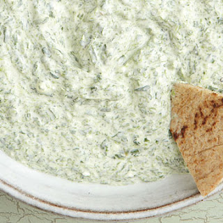 Carla Hall's Spinach and Feta Dip