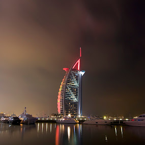 Burj Al Arab Dubai by Yadi Kustiadi - Landscapes Travel ( dubai )