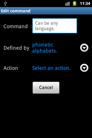 Voice Control pro - screenshot