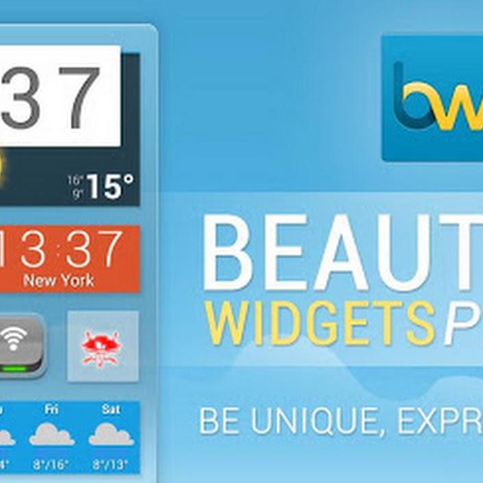 Beautiful Widgets 5.2.3 Pro Apk Free Full Version No Root Offline Crack Download
