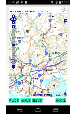 狩猟支援地図「またぎぃ」