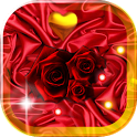 Rose Red Love Live Wallpaper icon