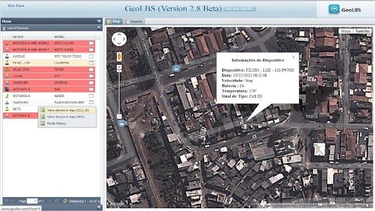 GPS Tracker Web & SMS Trial screenshot 5
