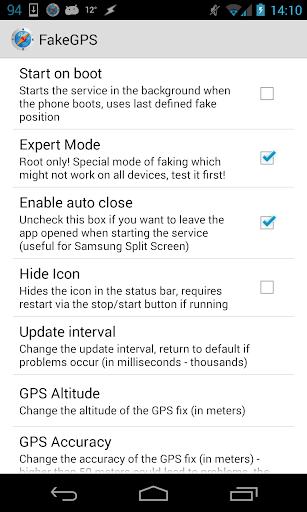 Fake GPS Go Location Spoofer  screenshots 14