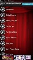 Screenshot of Super Funny Ringtones