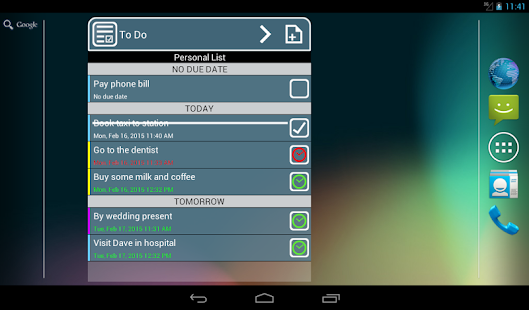 To Do List & Widget- screenshot thumbnail