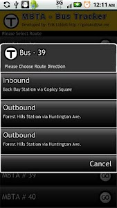 Boston Bus Tracker MBTA screenshot 0