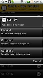 Boston Bus Tracker MBTA