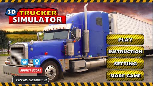 3D Trucker Transport Simulator