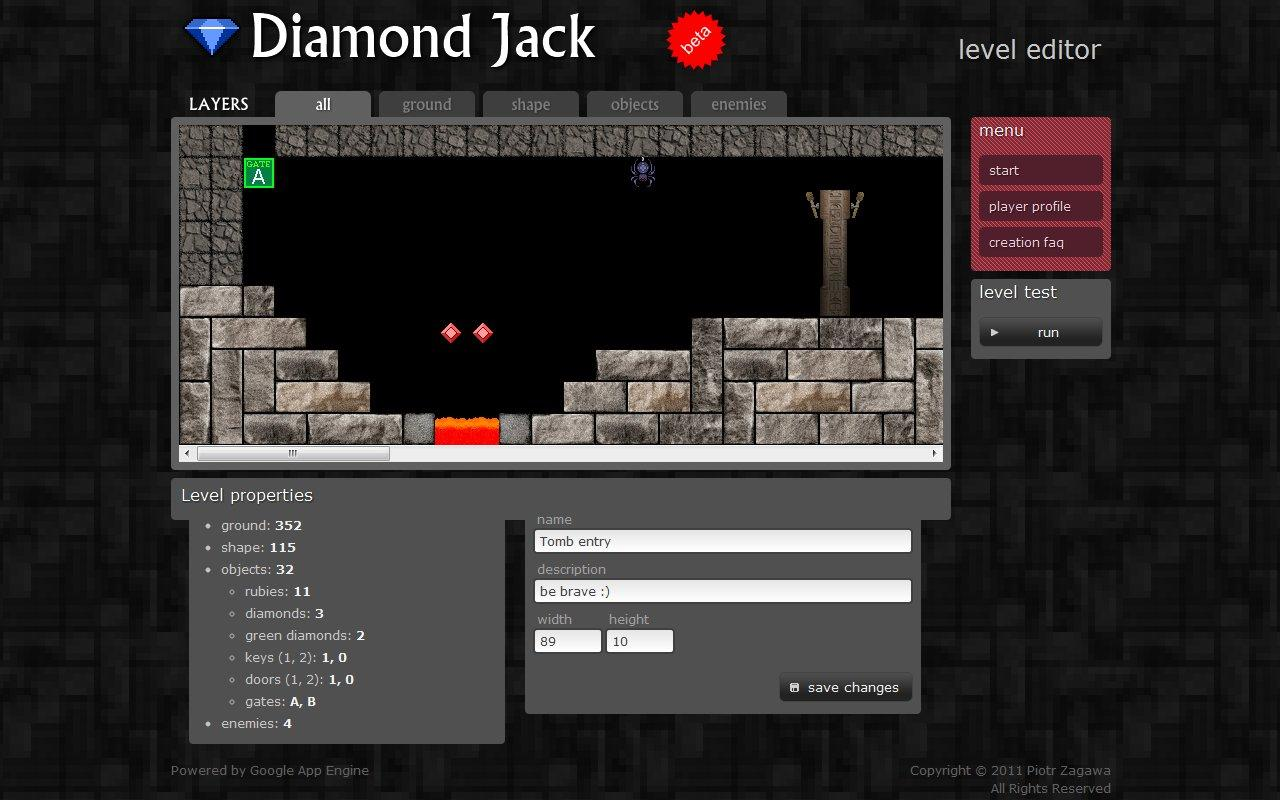 Diamond Jack- screenshot