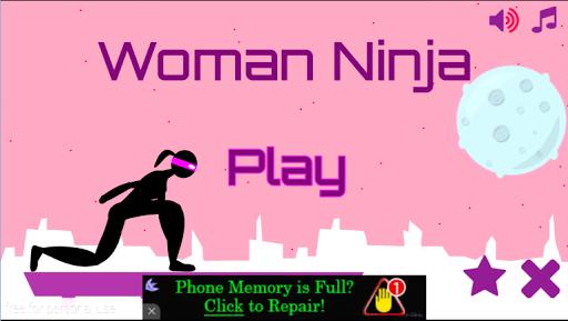 【免費街機App】Amazing Woman Gravity Ninja-APP點子