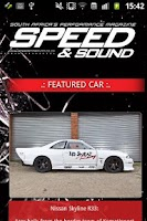 Screenshot of Speed and Sound