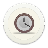 White Clock C Launcher Theme
