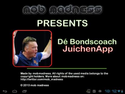 Dé Bondscoach Juichen App