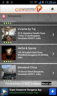 City Connect Bangalore- screenshot thumbnail