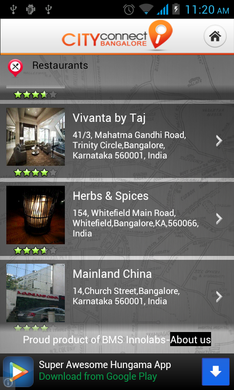 City Connect Bangalore- screenshot