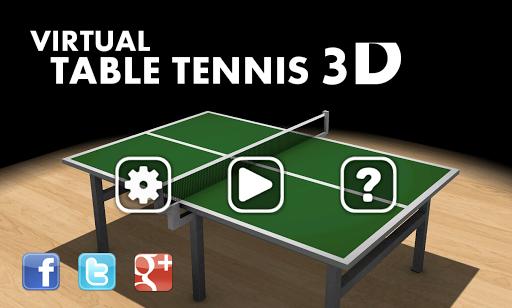 Virtual Table Tennis 3D 2.7.9 screenshots 4