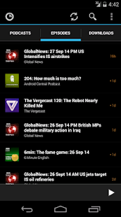 Podkicker Podcast Player Screenshot