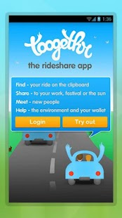 Toogethr, the carpool app - screenshot thumbnail