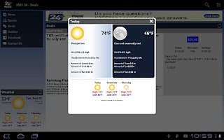 Screenshot of KSEE 24 for Tablet