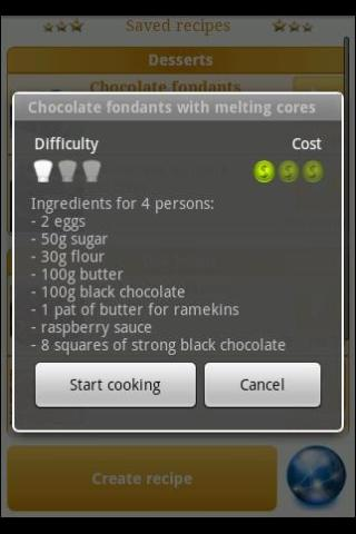 Cook Assistant Lite - screenshot