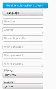 The Bible Quiz - screenshot thumbnail