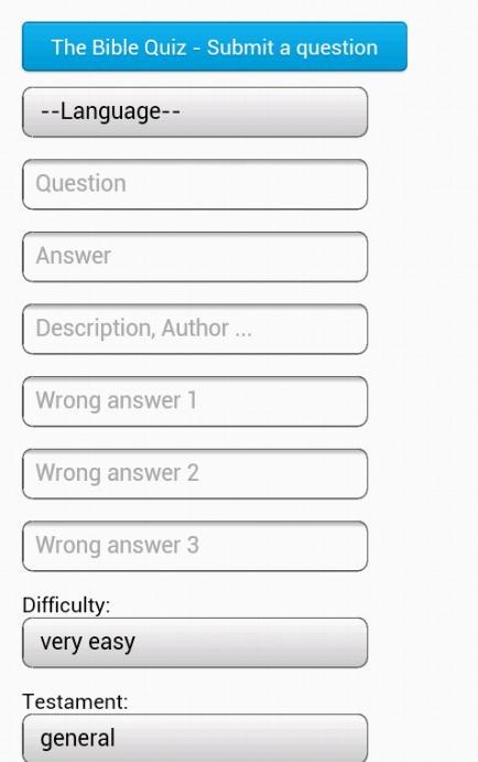The Bible Quiz - screenshot
