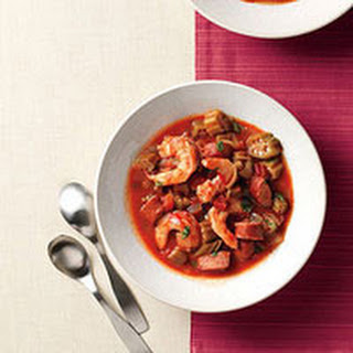 Shrimp-and-Andouille Stew