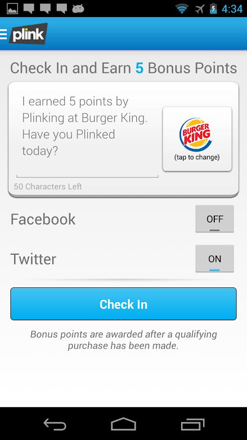 Plink - screenshot