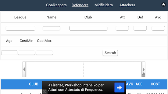 Scout List OFM - OSM & Tactics - screenshot thumbnail