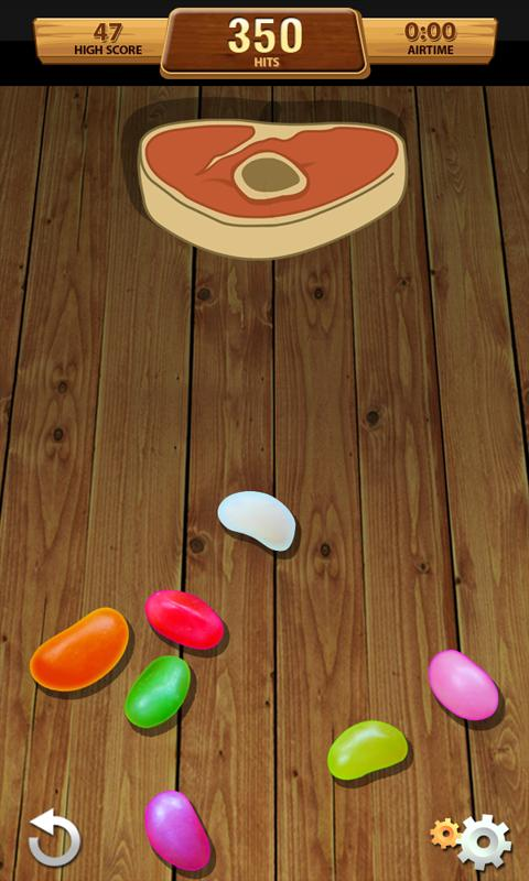 AR Flick The Bean - screenshot