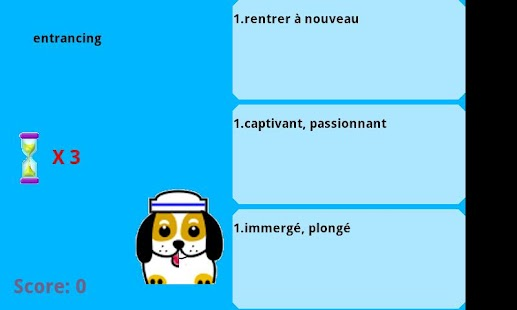 English VS French words game - screenshot thumbnail