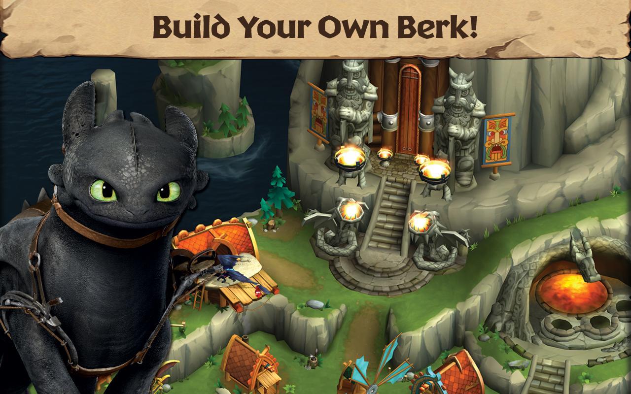 Dragons: Rise of Berk- screenshot