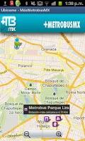 Screenshot of Metrobus MX