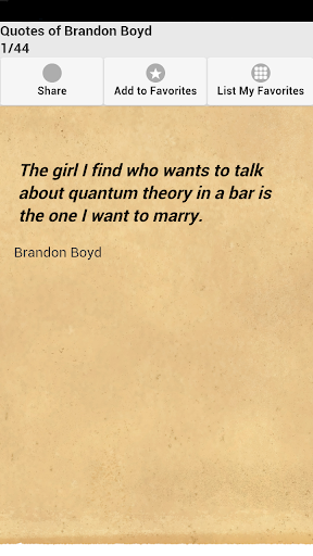 Quotes of Brandon Boyd