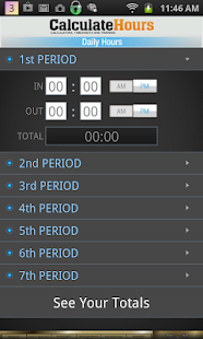 Calculate Work Hours-Timesheet- screenshot thumbnail