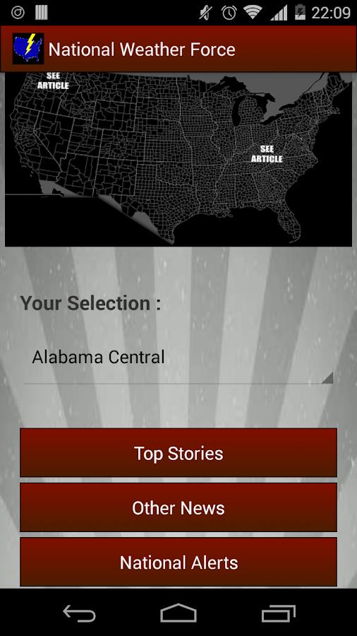 National Weather Force - screenshot